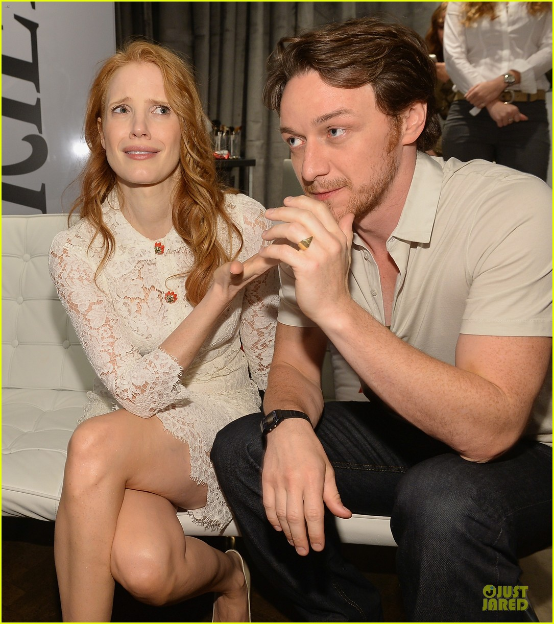 jessica chastain james mcavoy disappearance of eleanor rigby tiff premiere 072948480