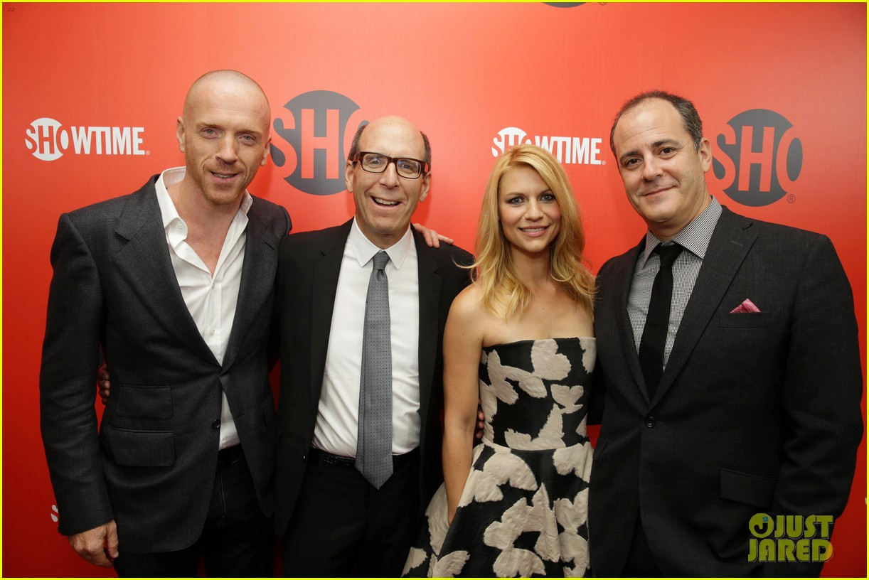 claire danes damian lewis showtime pre emmys party 022957461
