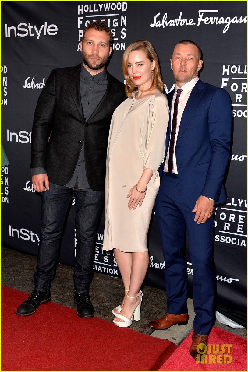 emilia clarke jai courtney hfpa instyle tiff party 03