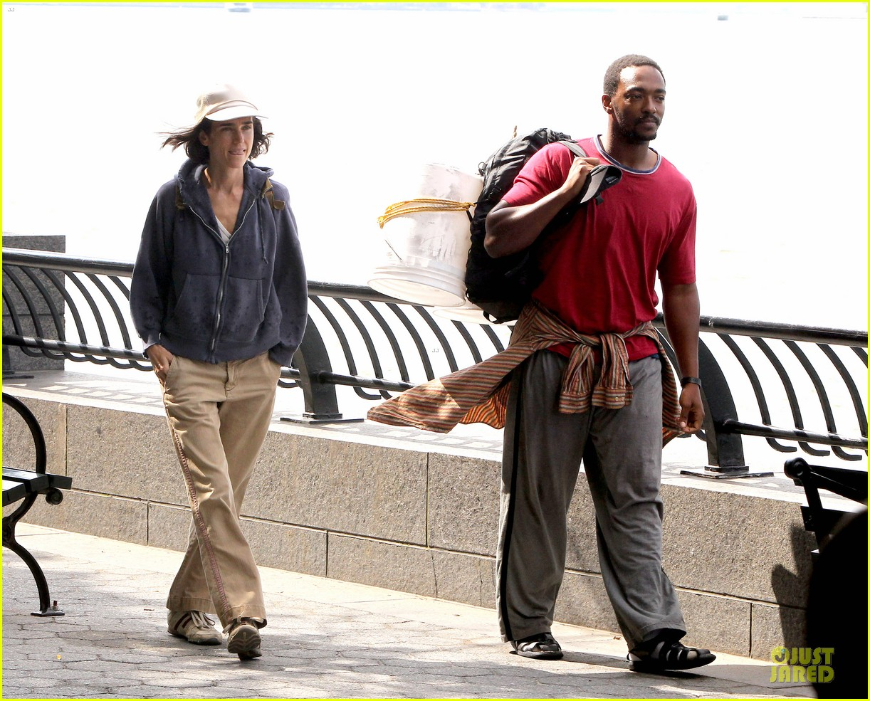 jennifer connelly anthony mackie hold hands for shelter 11