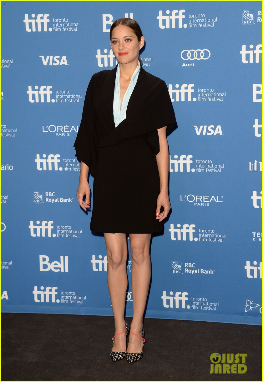 marion cotillard blood ties tiff press conference 10