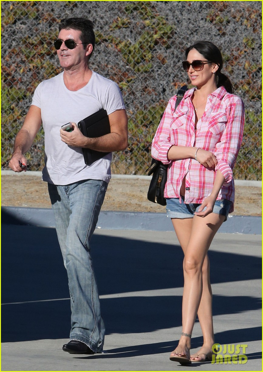 simon cowell lauren silverman weekend lovers 182963062