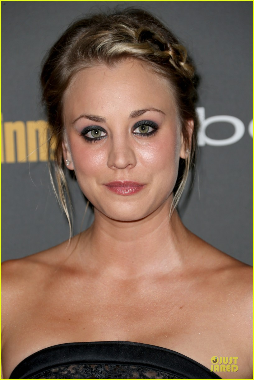kaley cuoco ryan sweeting ew pre emmy party 06