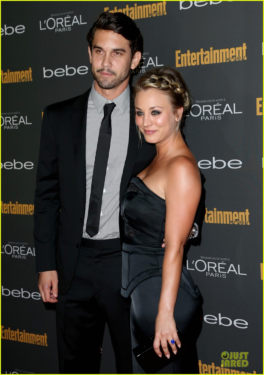 kaley cuoco ryan sweeting ew pre emmy party 16