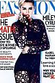 miley cyrus covers up on fashion magazine cover 02