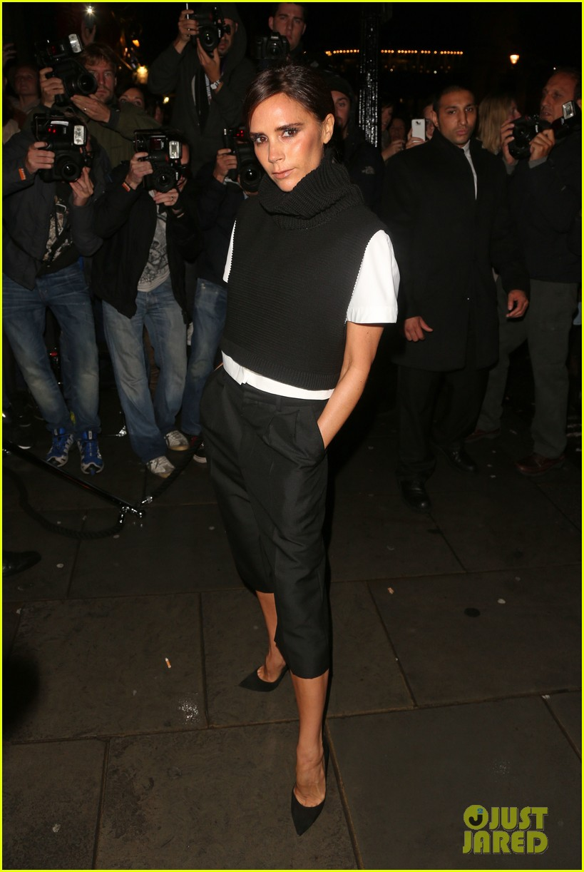 victoria david beckham separate london events 07