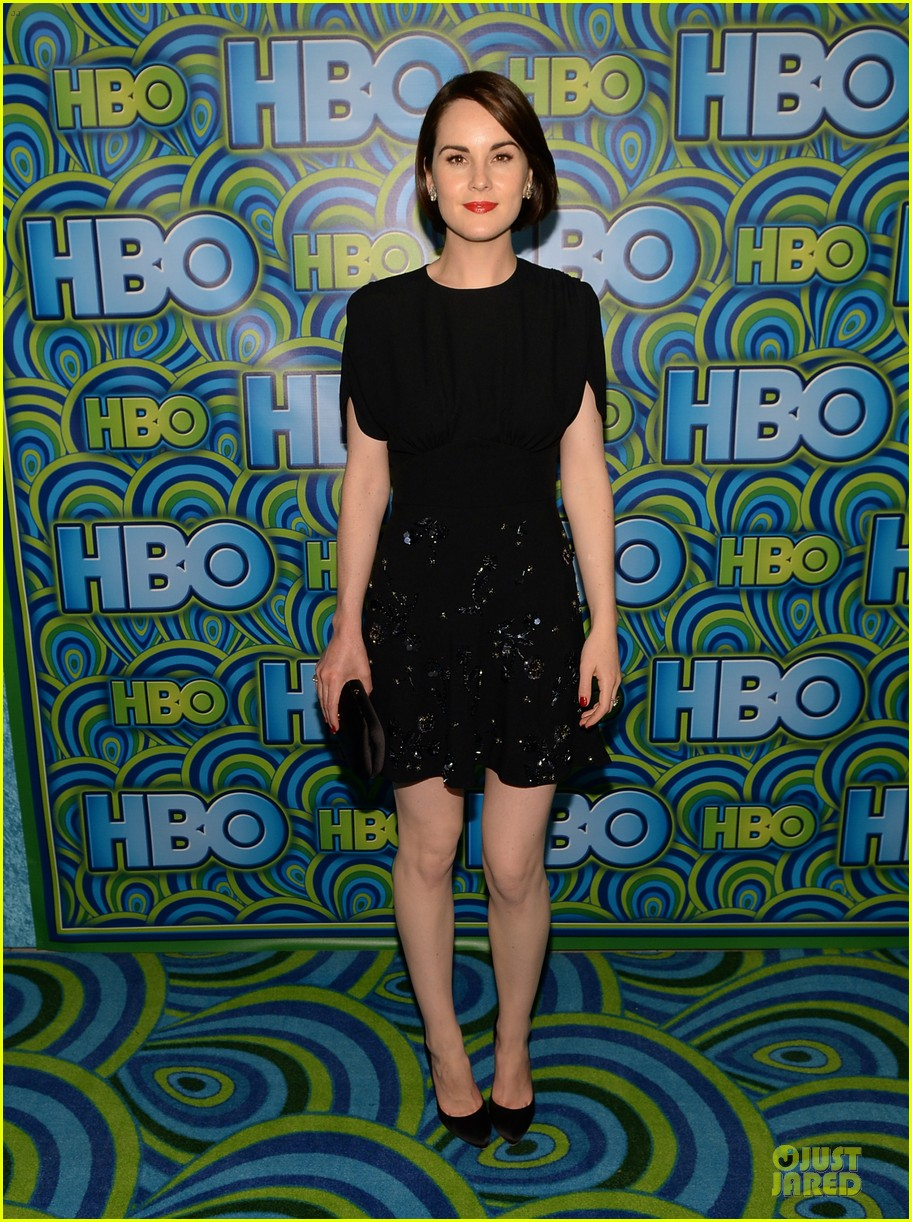 michelle dockery switches it up for hbo emmys after party 06