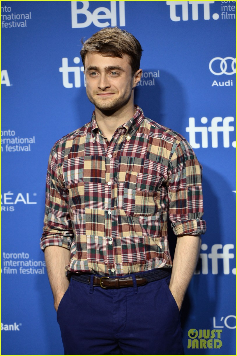 daniel radcliffe zoe kazan the f word portraits panel tiff 132947197