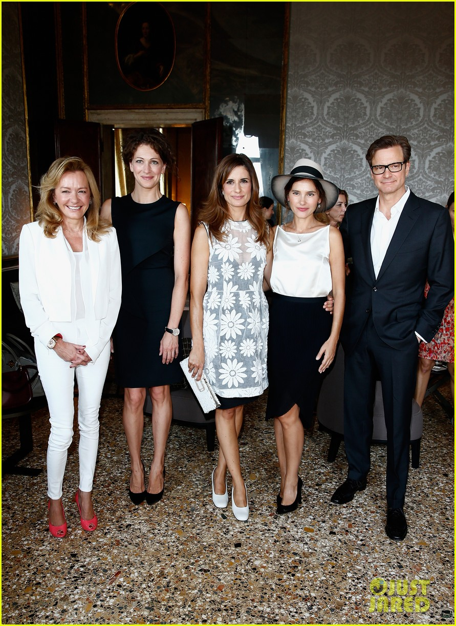 colin firth chopard photo call with livia giuggioli 14