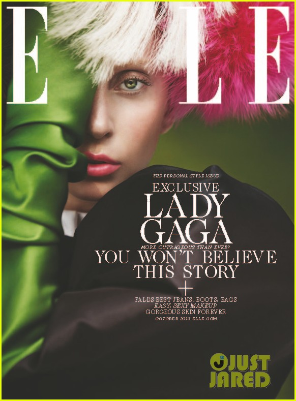 lady gaga covers elle october 2013 012950774