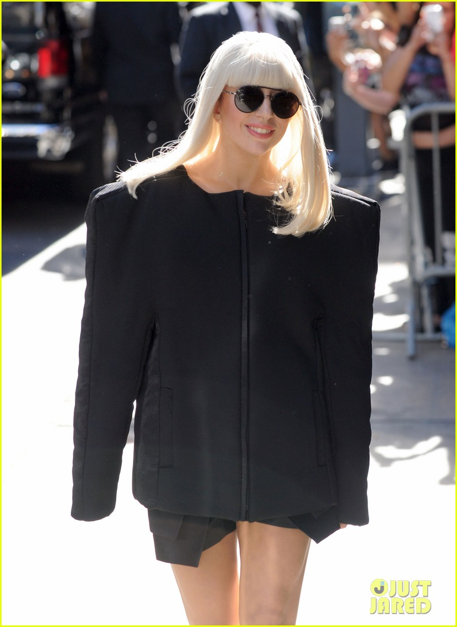 lady gaga serena williams exit good morning america studio 182948264