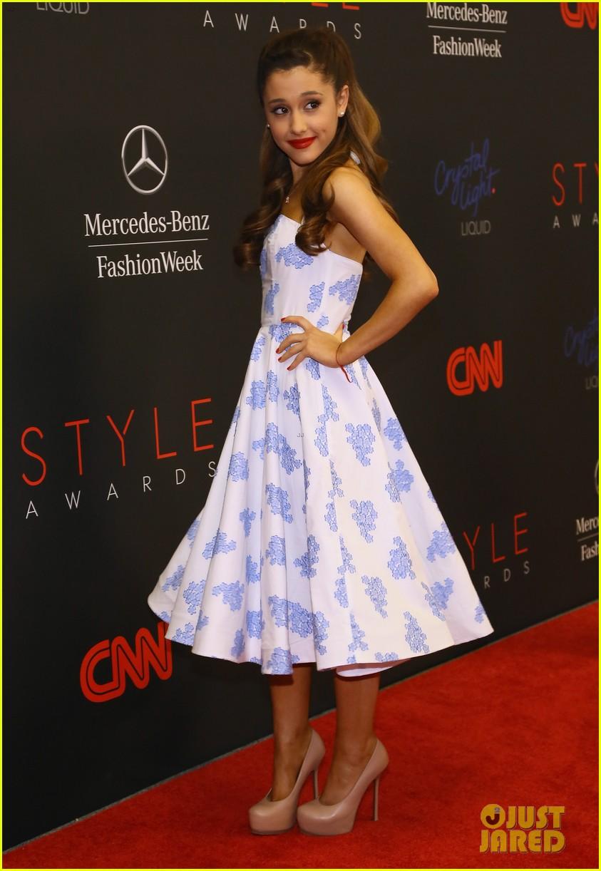ariana grande lily aldridge style awards 2013 122944090