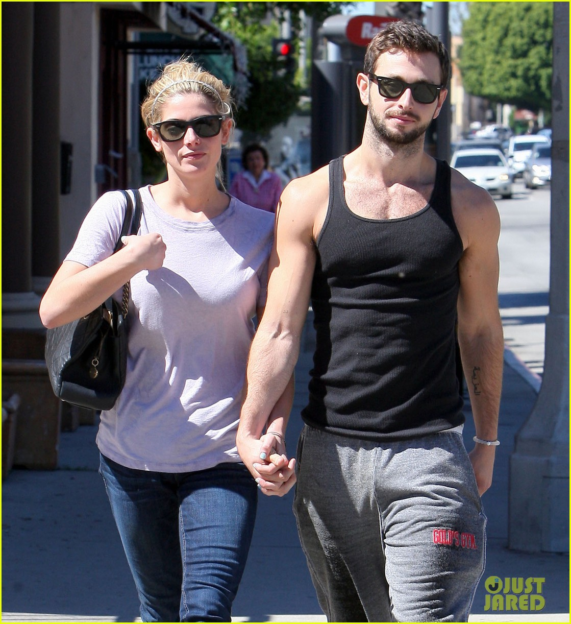 ashley greene holds hands with mystery man 242963092