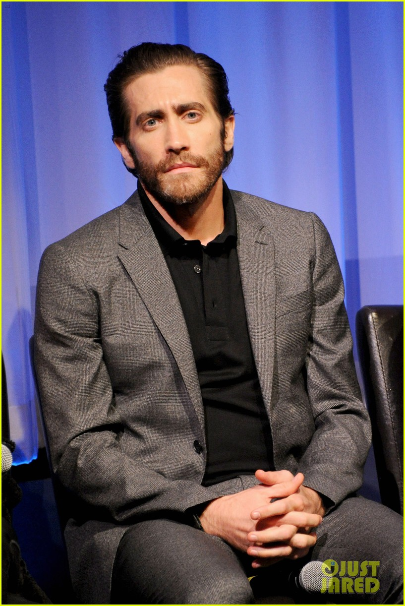 jake gyllenhaal hugh jackman prisoners ampas screening 01
