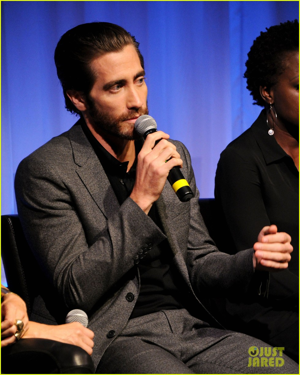 jake gyllenhaal hugh jackman prisoners ampas screening 14