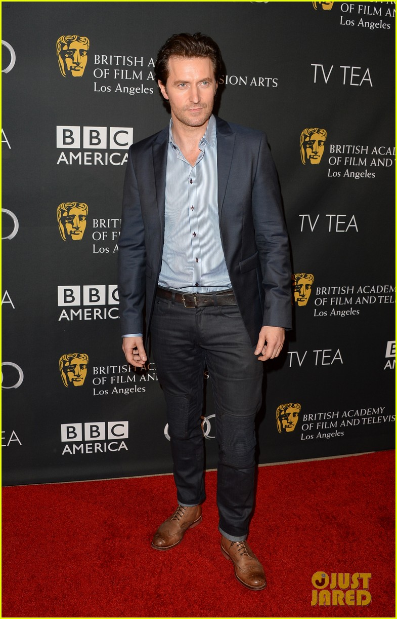 kit harington richard armitage bafta la tv tea party 2013 302957108