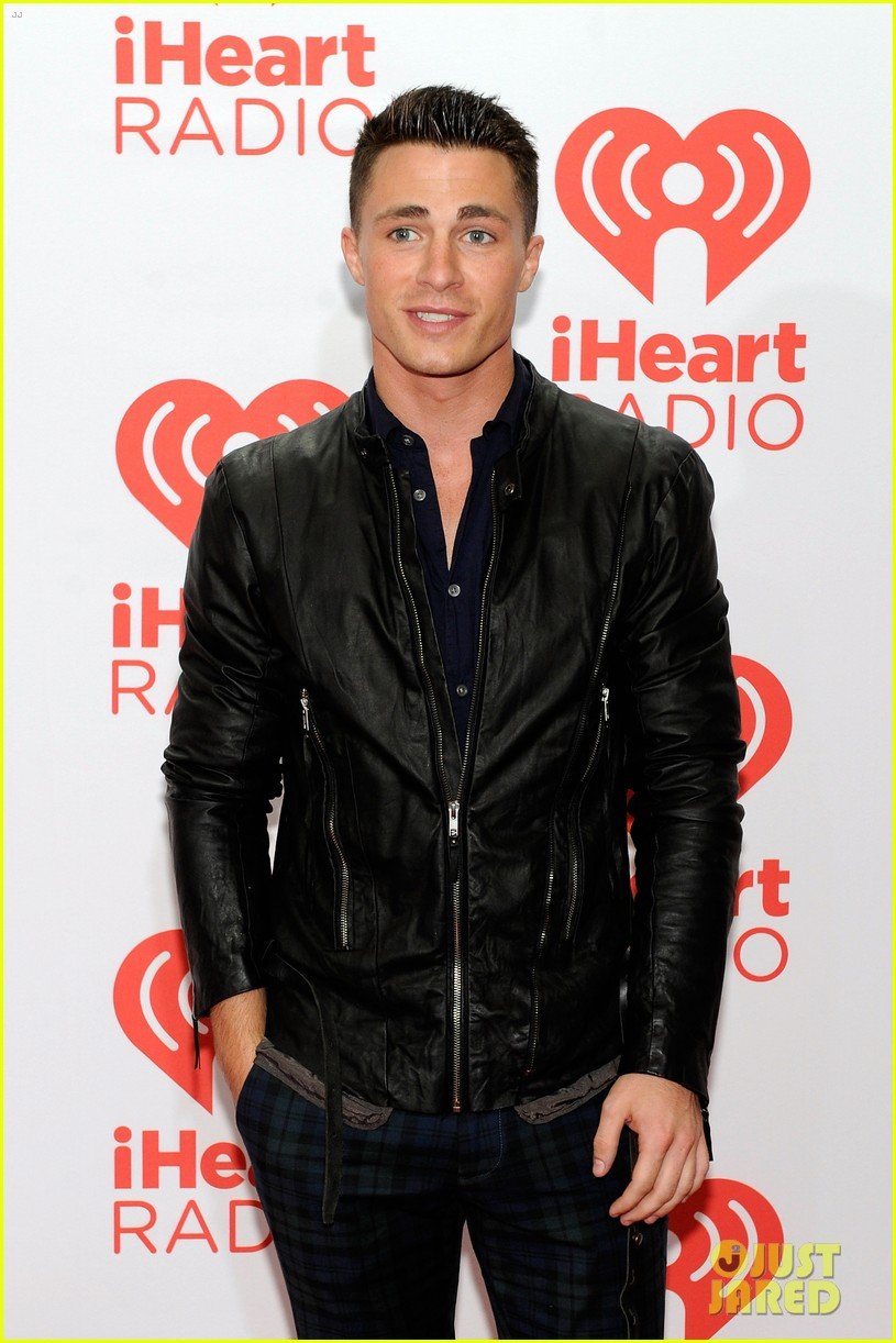 colton haynes shay mitchell lucy hale iheartradio guests 202957269
