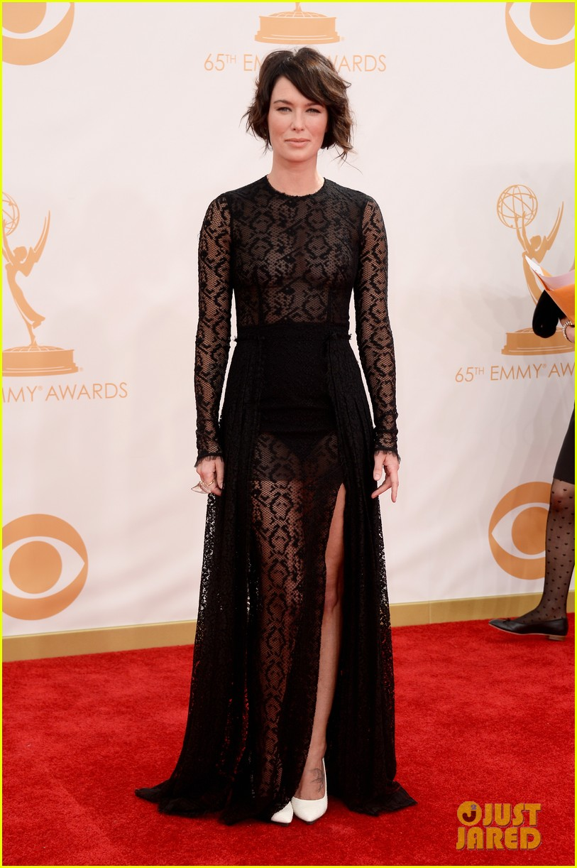 lena headey emmys 2013 red carpet 052958326