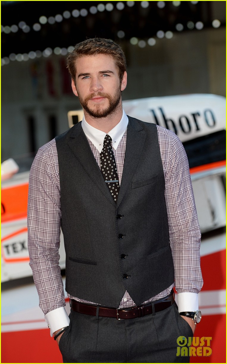 liam hemsworth supports brother chris at rush premiere 072942531
