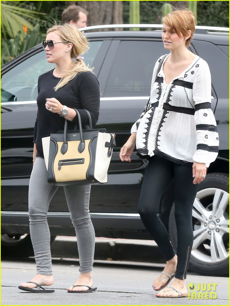 hilary duff girls day out with lisa stelly 272957711