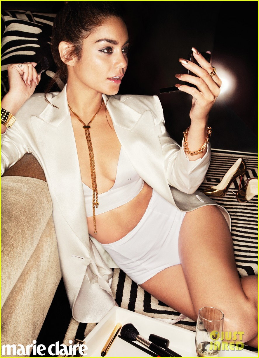 vanessa hudgens covers marie claire october 2013 01