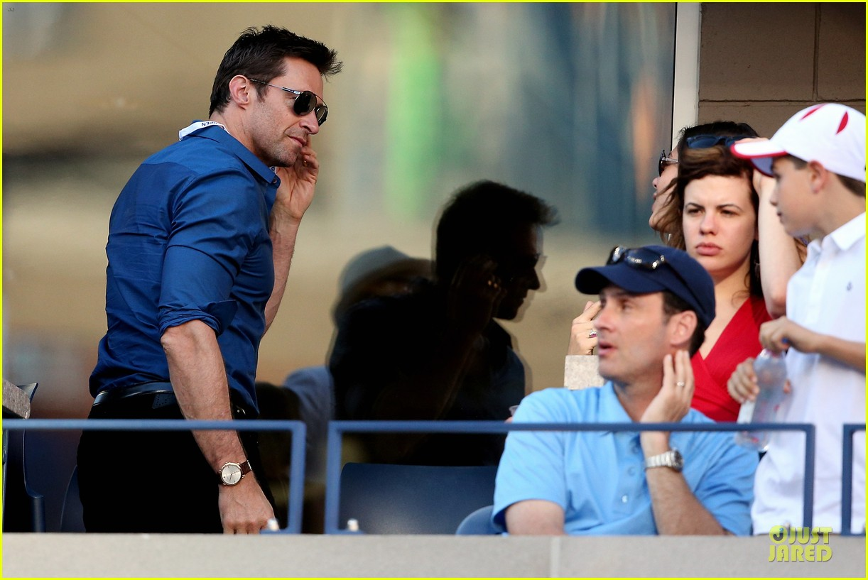 hugh jackman jesse metcalfe us open womens final 10