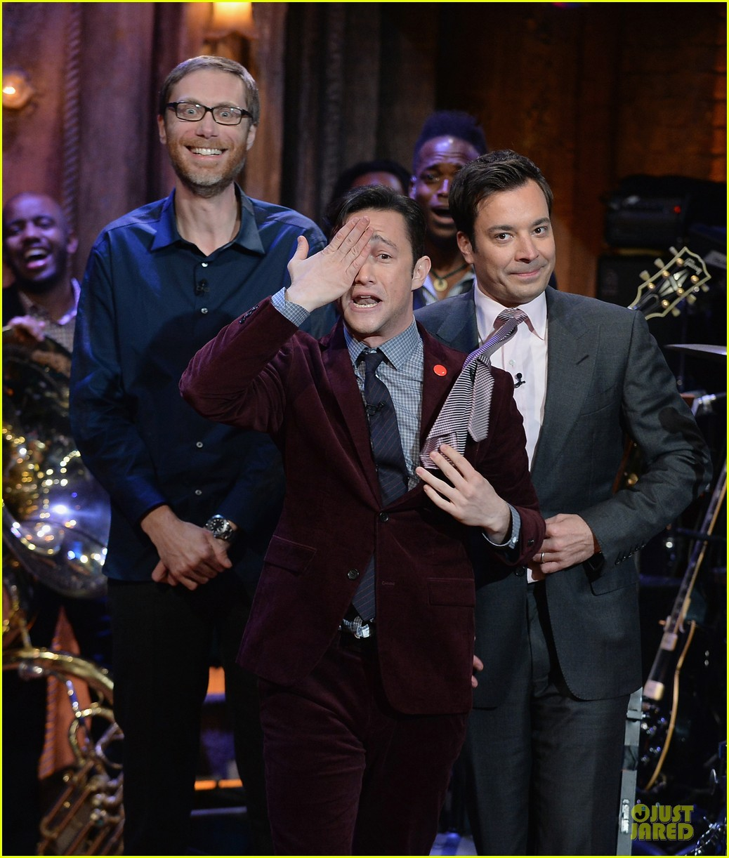 joseph gordon levitt lip synching contest on fallon 062959449