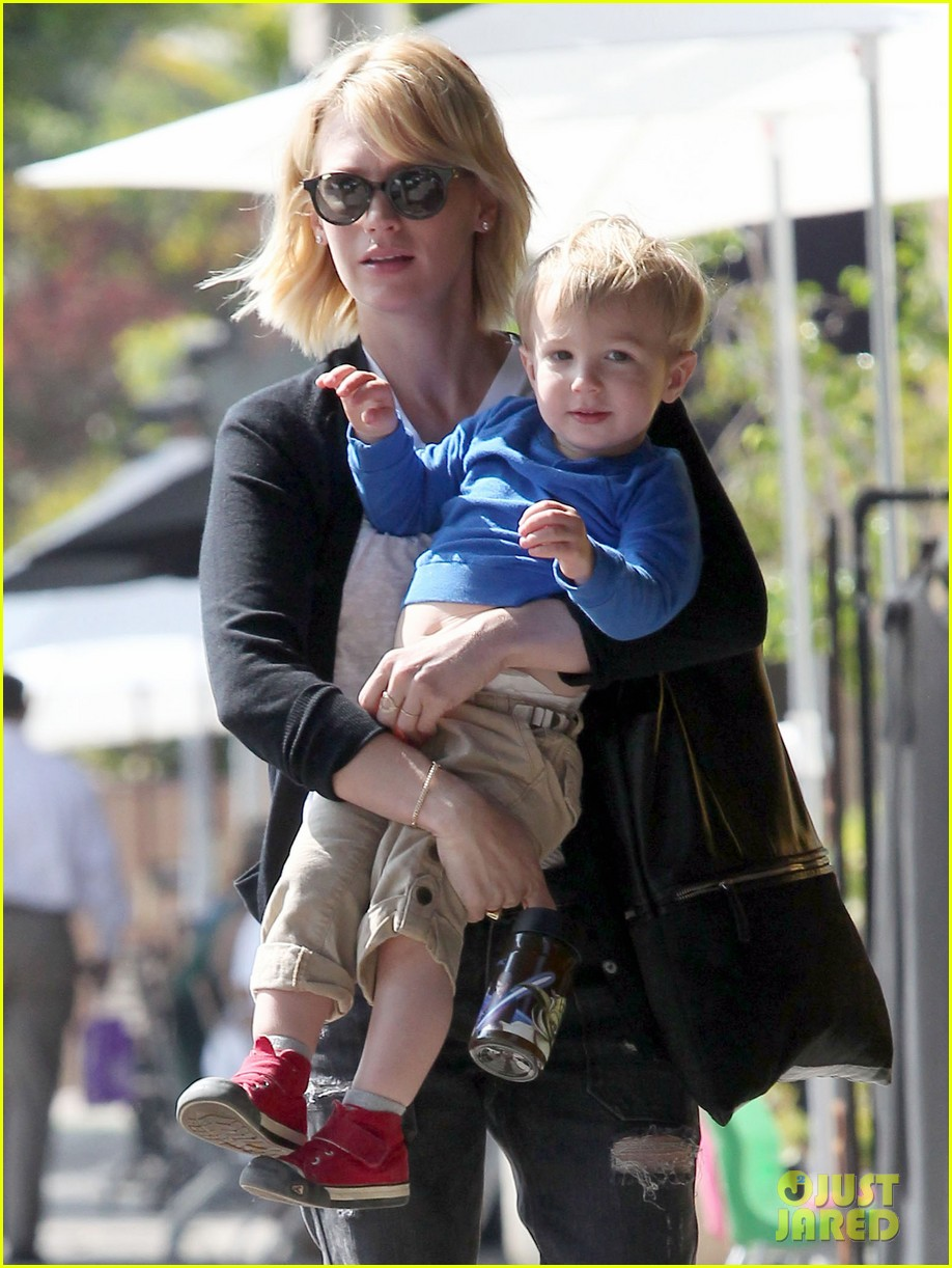 january jones xander are breaking buddies in la 102955306