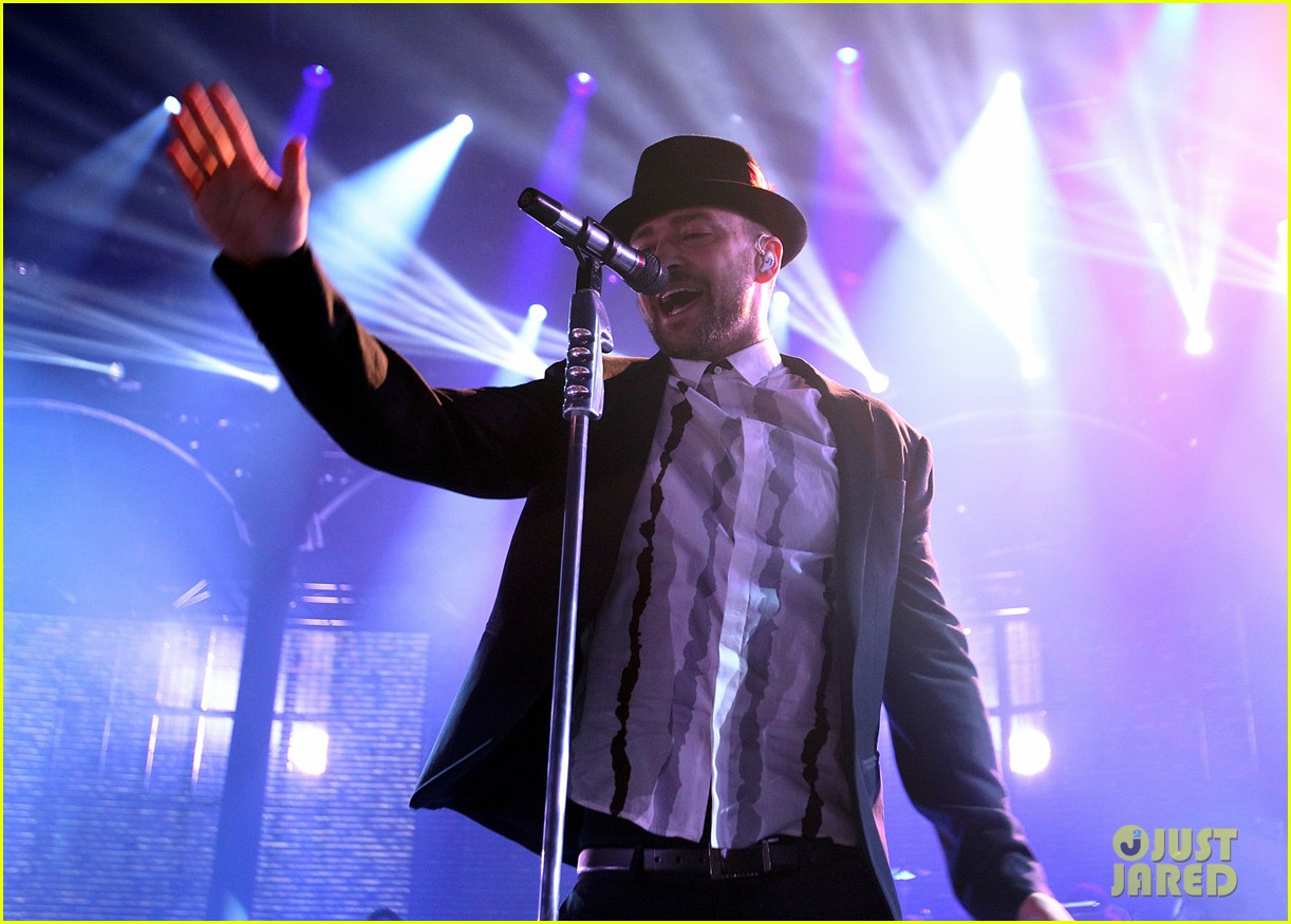 justin timberlake performs itunes music festival 2013 02