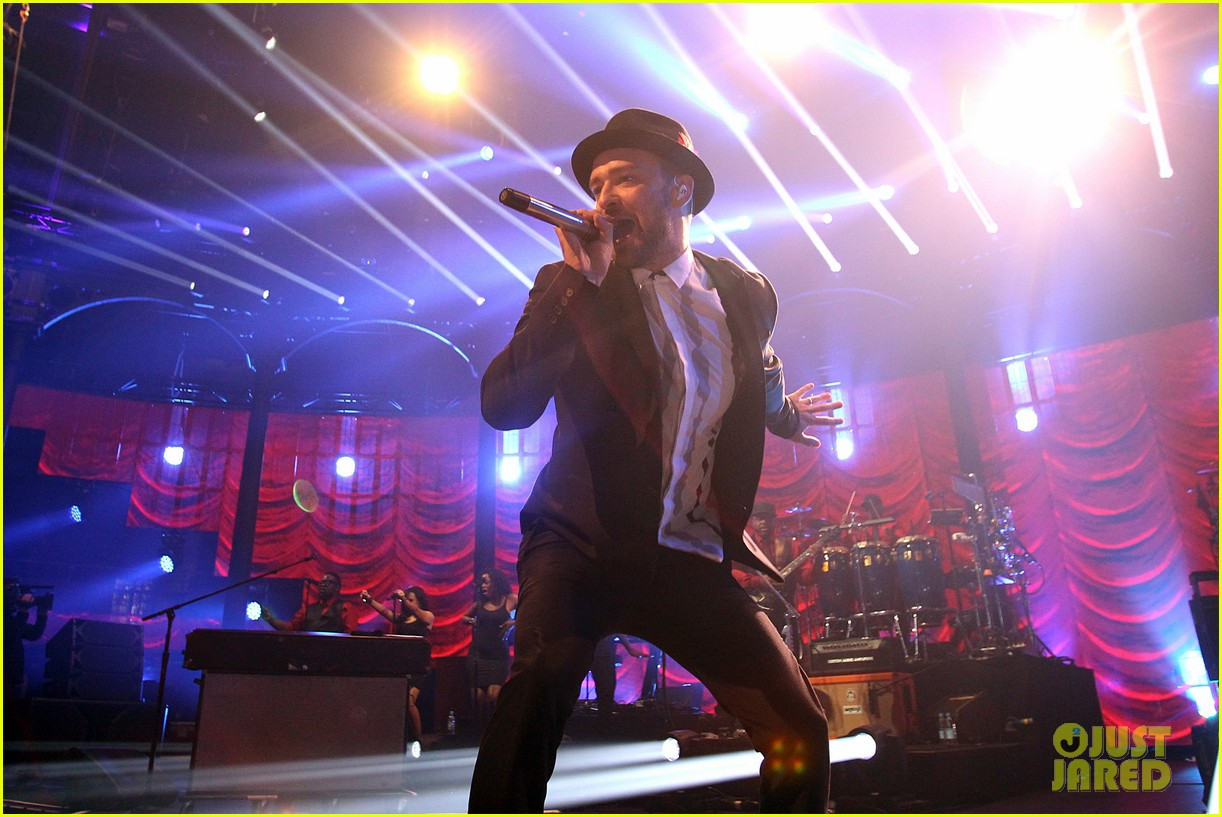 justin timberlake performs itunes music festival 2013 13