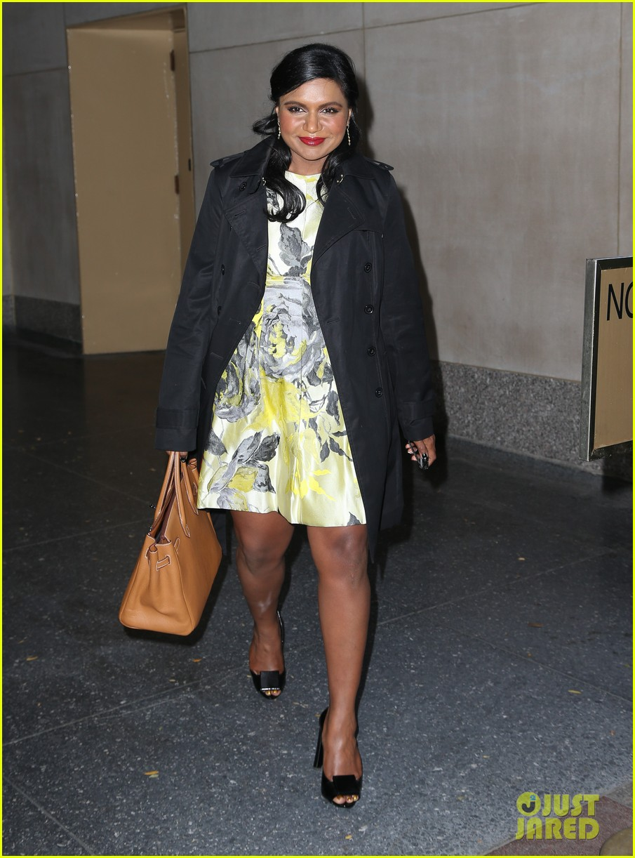 mindy kaling promotes mindy project premiere on today 01