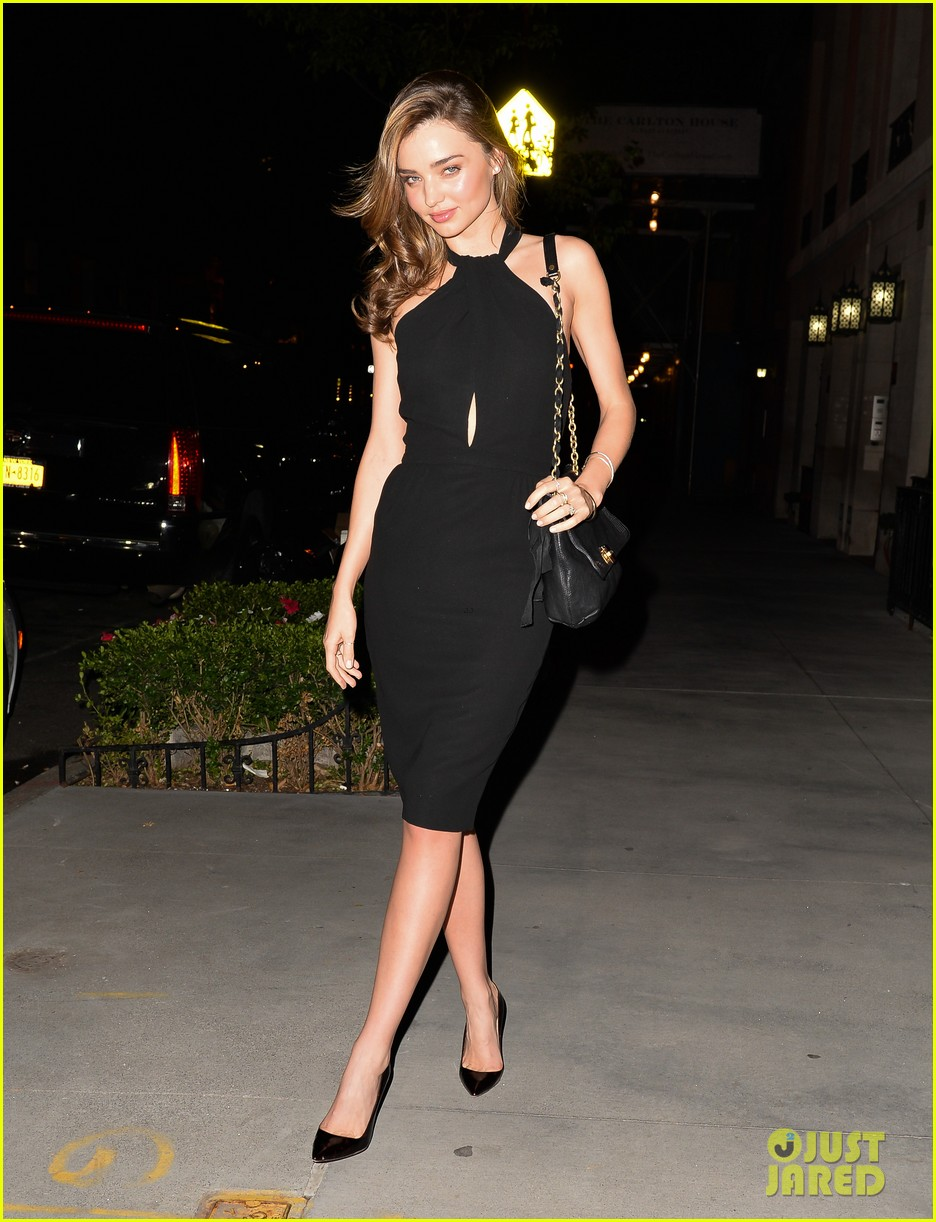 miranda kerr girls night out after family time in central park 03
