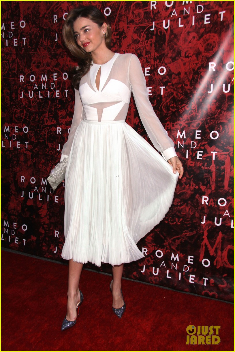 miranda kerr romeo juliet opening to support orlando bloom 122955621