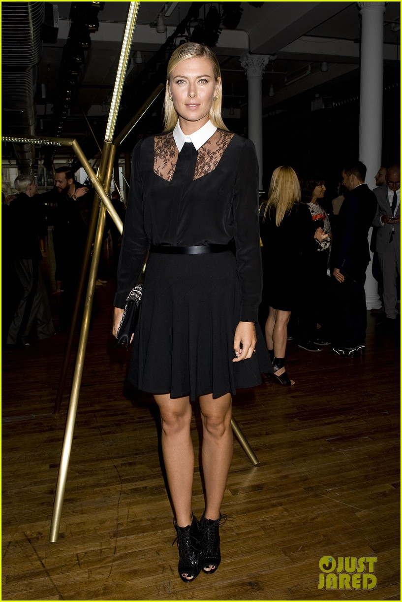 alicia keys maria sharapova jason wu fashion show 062945215