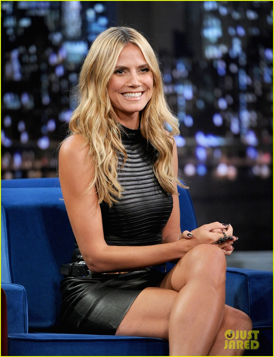 heidi klum terrified to film parks recreation guest spot 16