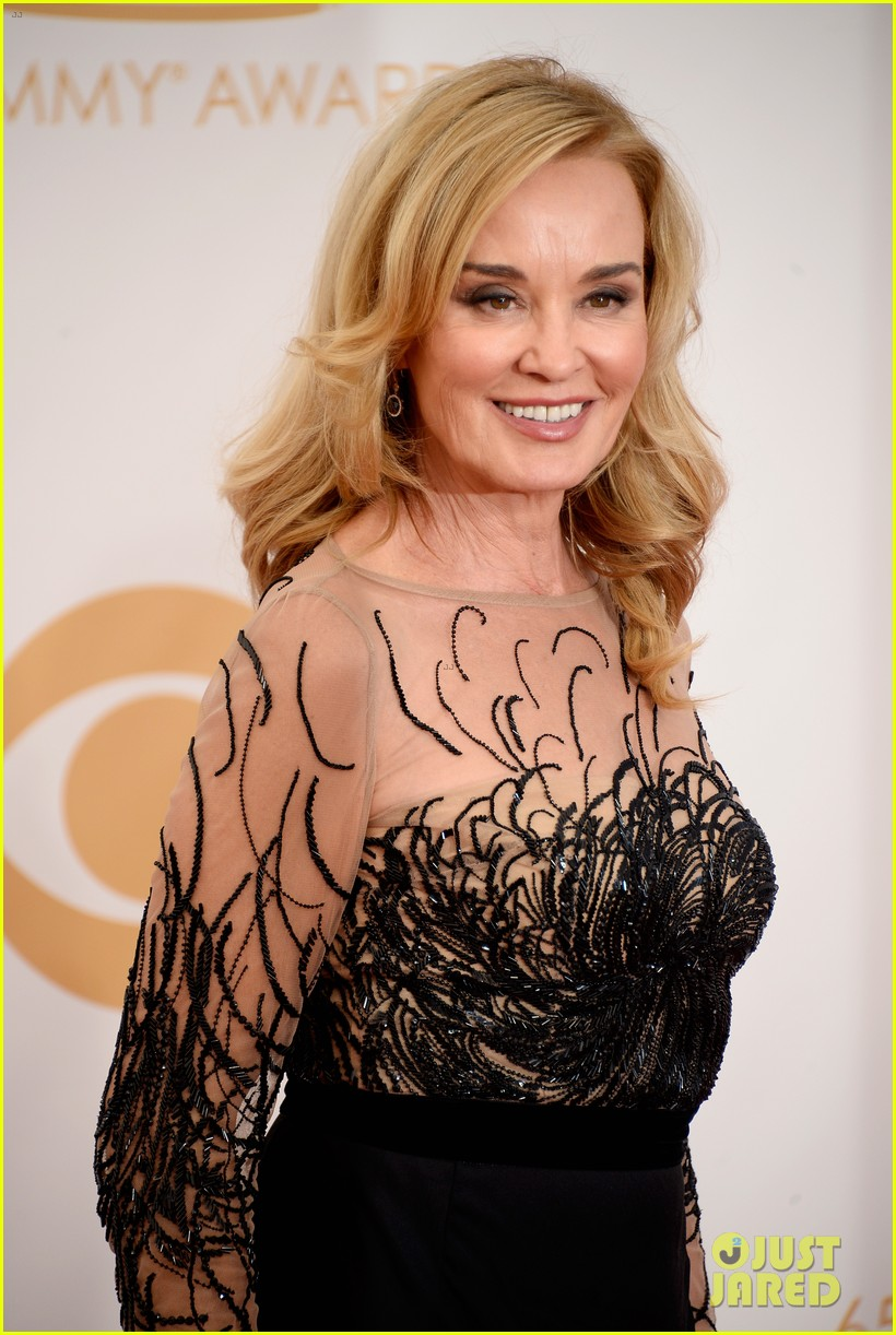 jessica lange dylan mcdermott emmys 2013 red carpet 042958315