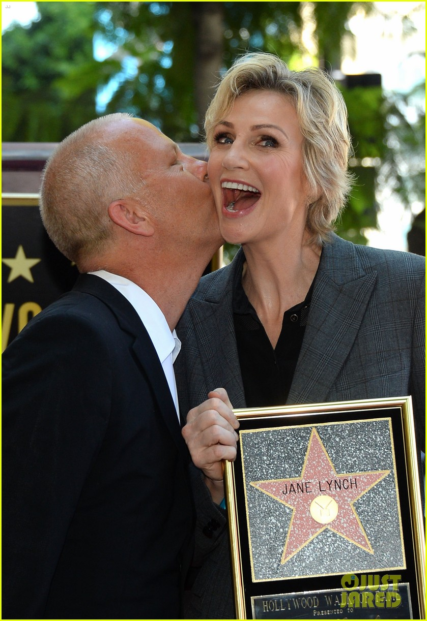 jane lynch receives star on hollywood walk of fame 02