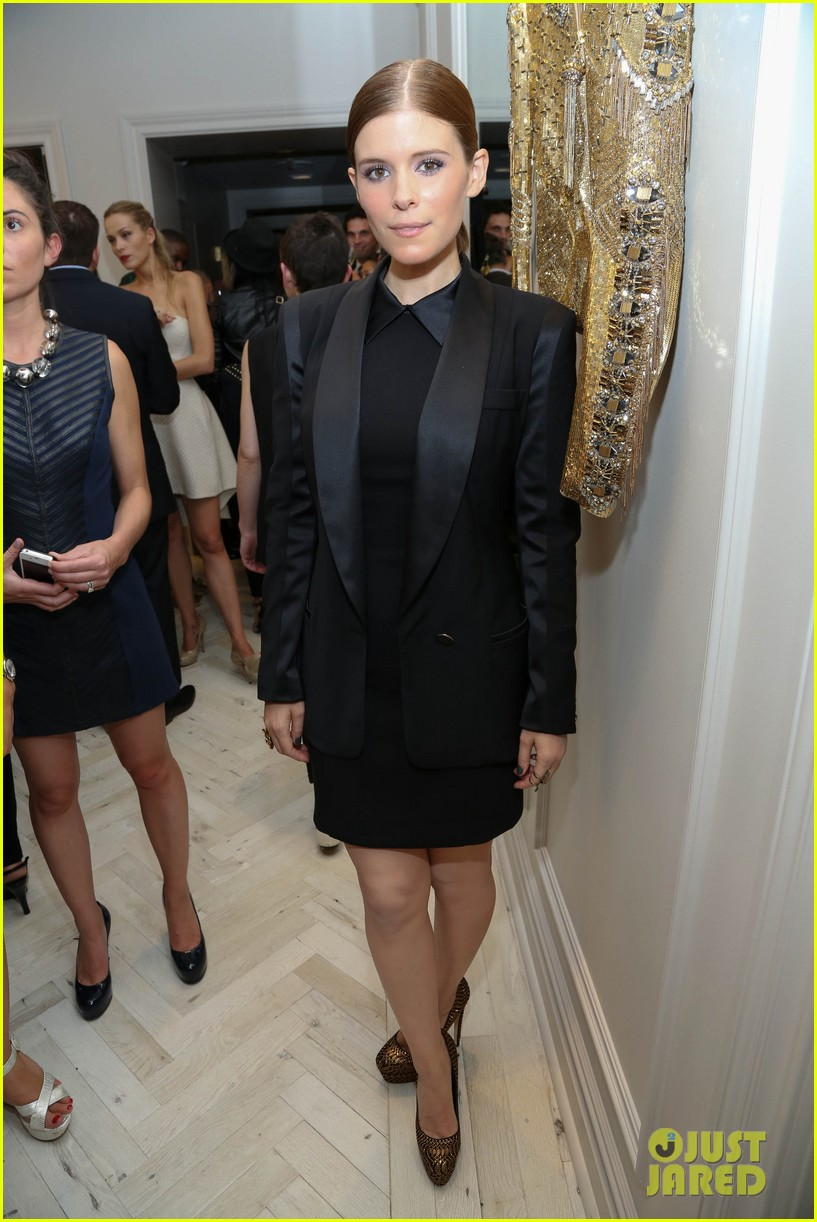 kate mara carly rae jepsen badgley mischka store opening 13