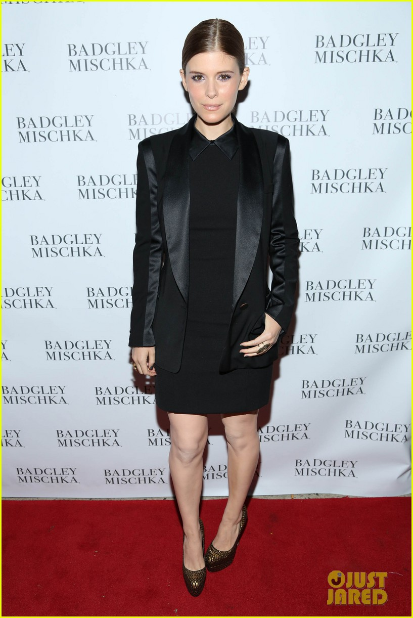 kate mara carly rae jepsen badgley mischka store opening 172950047