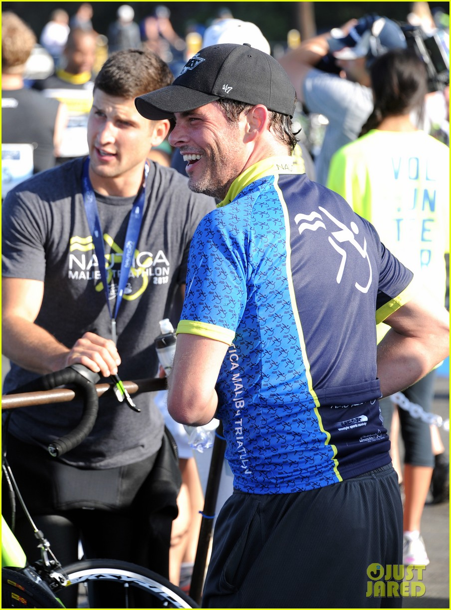 james marsden jeremy sisto nautica malibu triathlon 2013 082947867