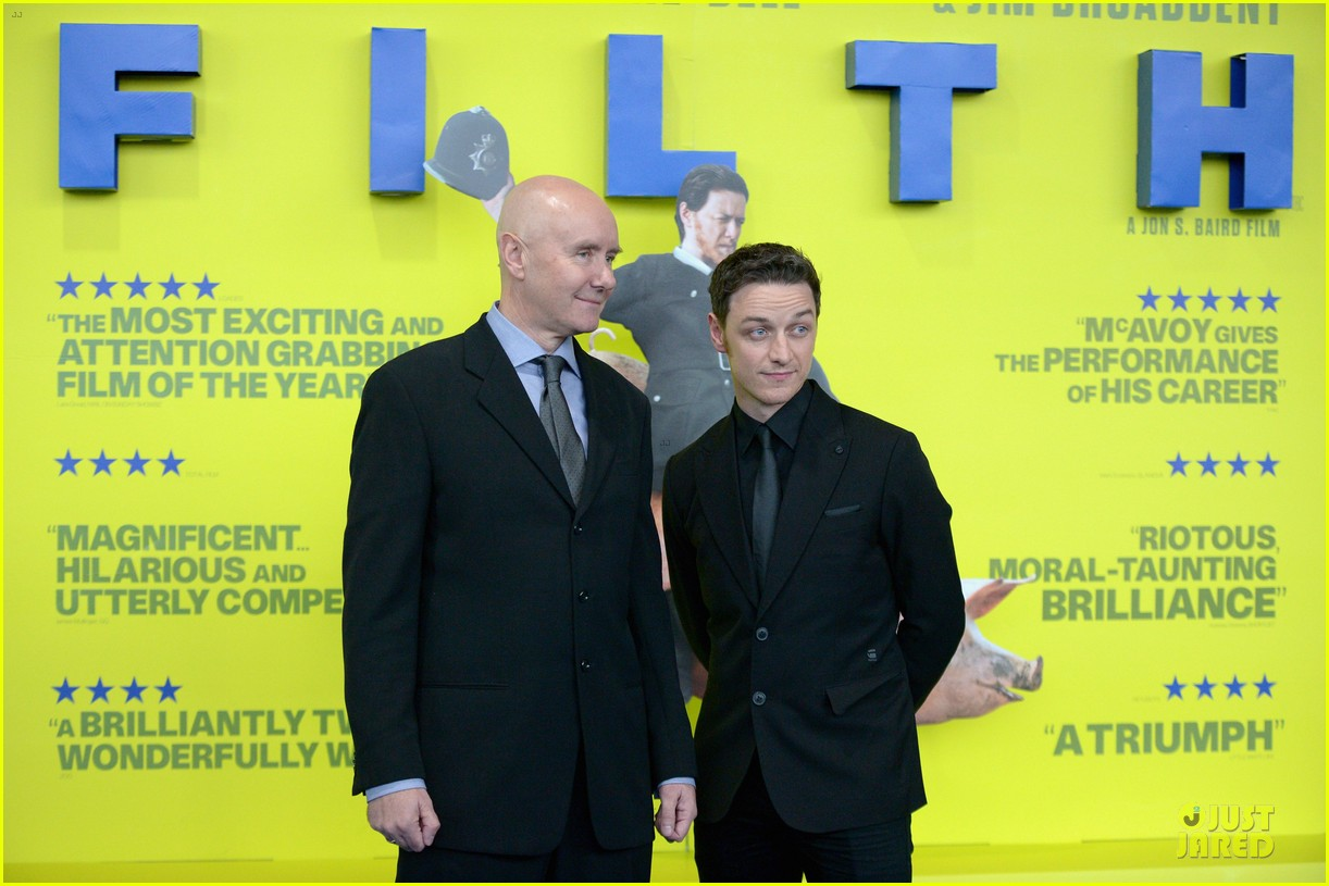 james mcavoy filth scotland premiere 092958828