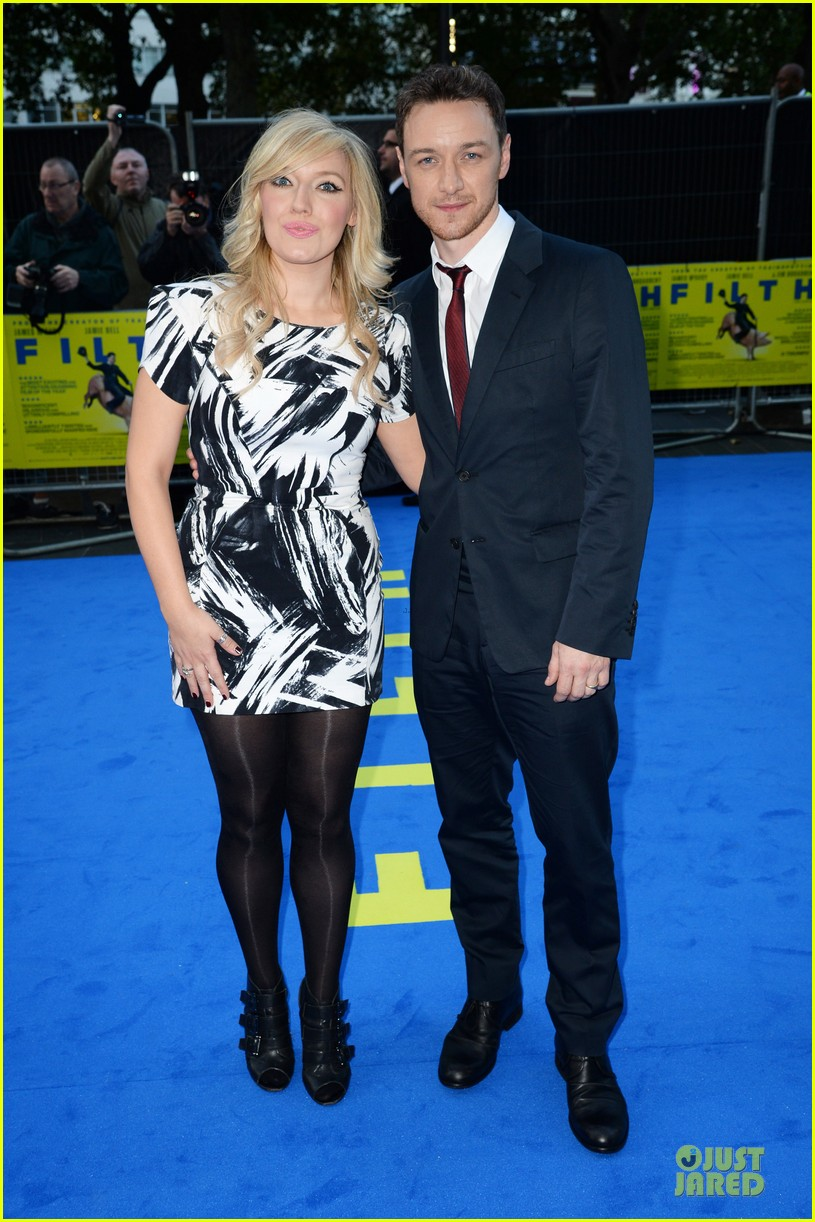 james mcavoy imogen poots filth london premiere 062963399
