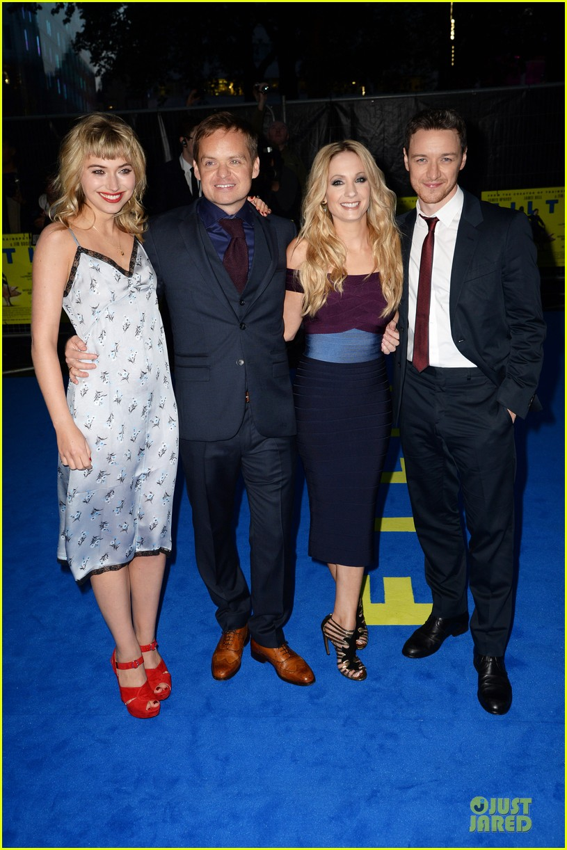 james mcavoy imogen poots filth london premiere 252963418