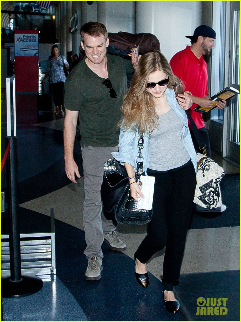 michael c hall morgan macgregor catch flight together 03