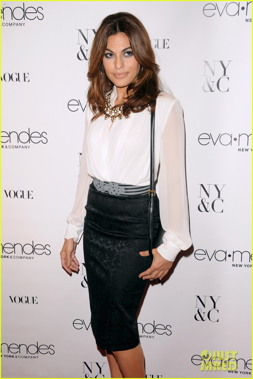 eva mendes launches her new york company clothing line 022954828