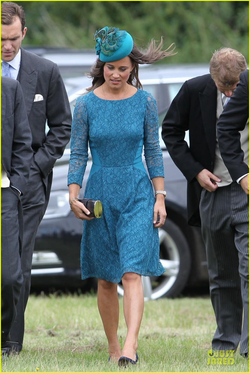 Pippa Middleton: Norfolk Wedding with Prince William & Harry!: Photo ...