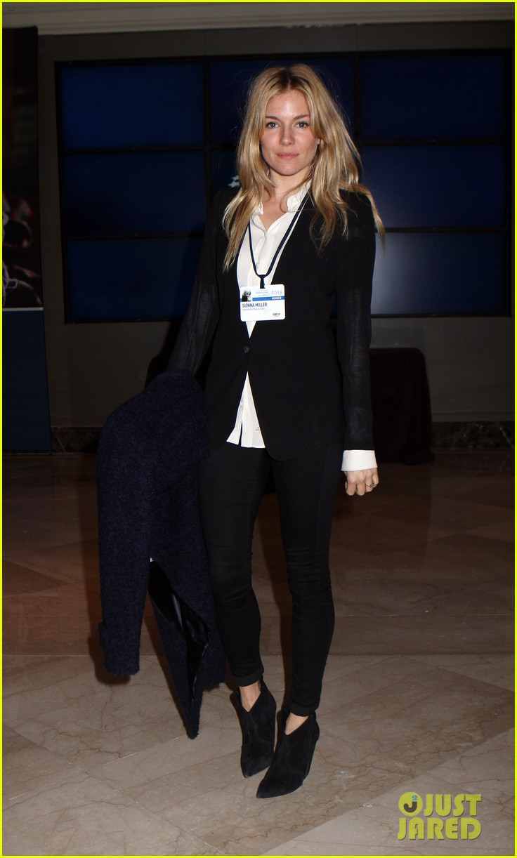 sienna miller clinton global initiative events in new york 17
