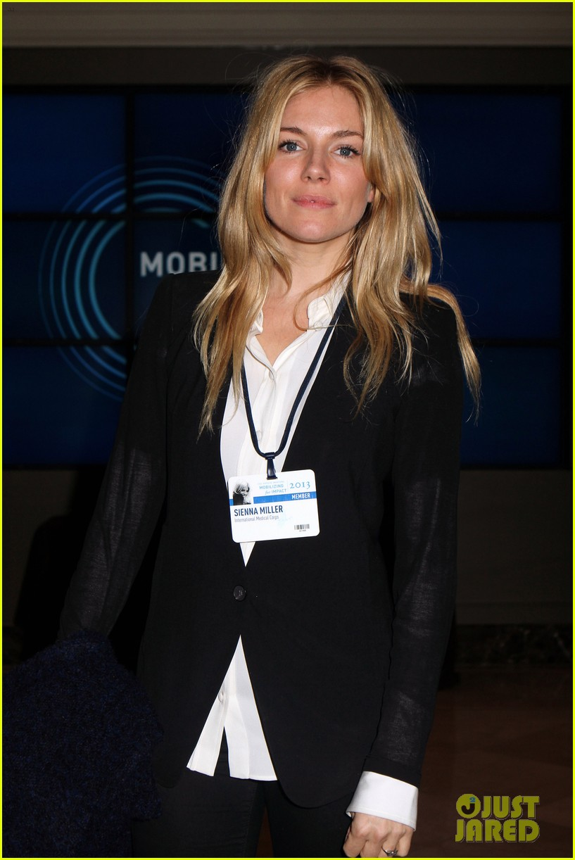 sienna miller clinton global initiative events in new york 182960727