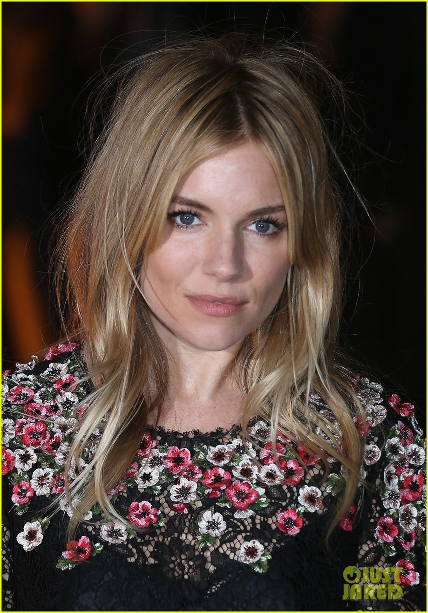sienna miller benedict cumberbatch global fund event 11
