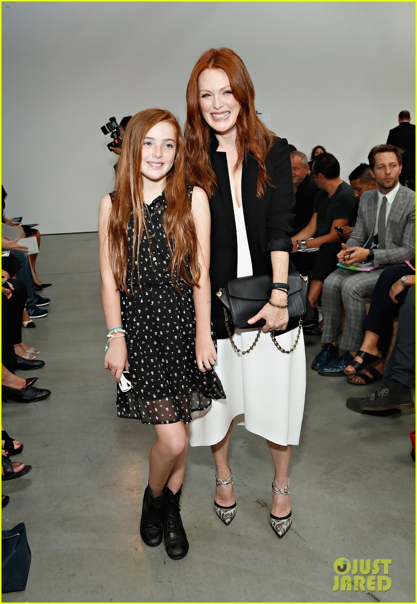 julianne moore allison williams reed krakoff fashion show 10